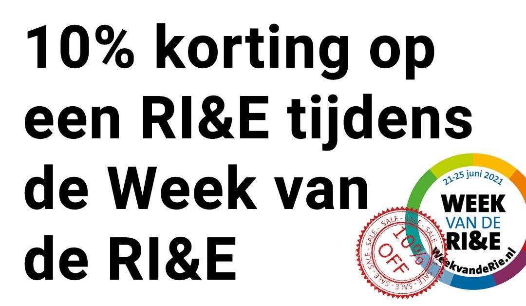 Week van de RI&E: 10% korting op een RI&E